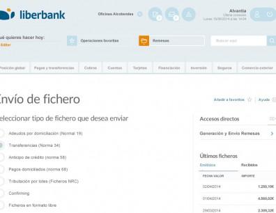 Consultoría UX Liberbank